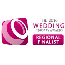 Wedding Industry 2016 Regional Finalist