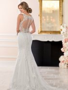Stella York 6500 Wedding dress back