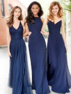 Hayley Paige Occasions Bridesmaid Dress 5758 in a group of three