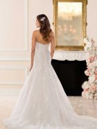 Stella York 6680 wedding dress back photo