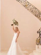 Stella York 6680 wedding dress fun photo