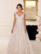 Stella York 6649 wedding dress front