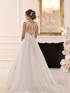 Stella York Wedding dress 6675 back