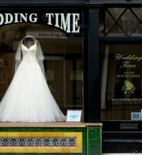 Wedding Time shop in Dorchester
