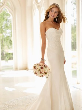 Stella York 6236 wedding dress front