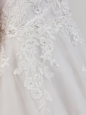 Phil Collins Bridal Dress PC7208 detail