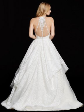 Hayley Paige Bridal Dress Behati 6550 Back