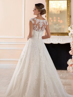 Stella York Wedding dress 6303 back
