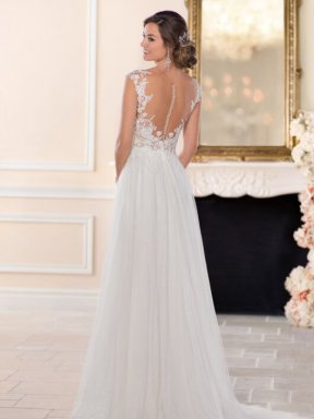 Stella York Wedding dress 6490 back