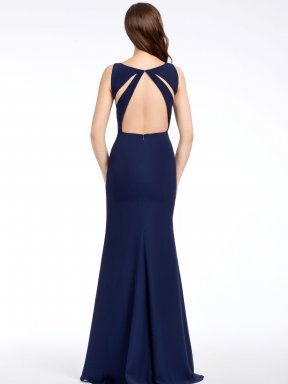 Hayley Paige Occasions Bridesmaid Dress 6561 back