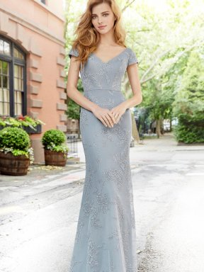 Hayley Paige Occasions Bridesmaid Dress 5761 front