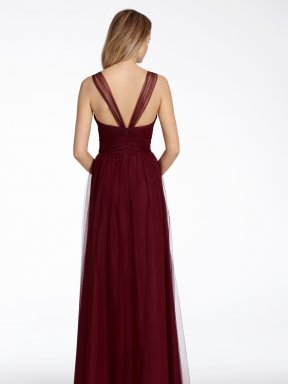 Hayley Paige Occasions Bridesmaid dress back