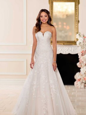 Stella York 6680 wedding dress front