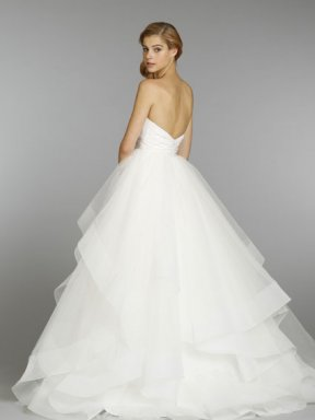 Hayley Paige 6358 Wedding Dress back