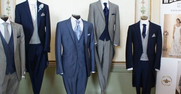 Men's Wedding Suits for hire and to buy in Dorchester UK
